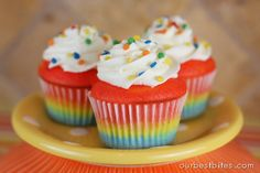 Colorburst Cupcakes....PuRim