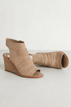 Strapped Slingback Wedges #anthropologie   cute!!!