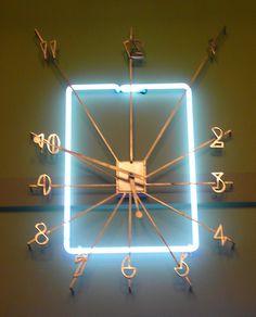 Los Angeles, CA Bullock's Wilshire Department Store Cactus Lounge entrance clock