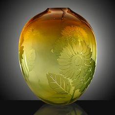 Sunflower by Duncan McClellan via Pismo Fine Art Glass