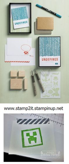 RubberFUNatics: Undefined--Stamp Carving Kit