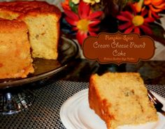 Melissa's Southern Style Kitchen: Pumpkin-Spice Cream Cheese Pound Cake