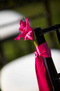 Blissique: Fuchsia and black for a stylish affair