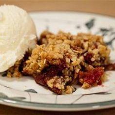 Apple-Cranberry Crisp