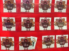 Where's the pilgrim? sight word game