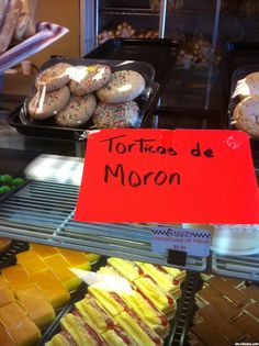 Torticas de Moron  Cuban sugar cookies with a hint of lime.