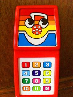 Playskool 1982 Musical Phone - we had this. they make toy phones more high tech now.