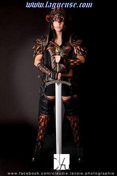 leather armor women