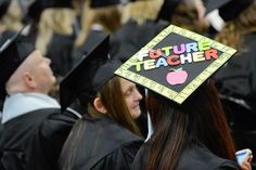 Graduating seniors decorated their caps for Midyear Commencement, which took place on Dec. 15, 2012.
