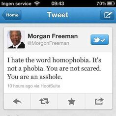 In short: Freeman's so cool, you just have to like him!