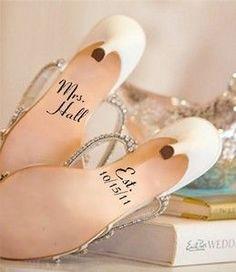 wedding shoes, wedding ideas, wedding day, shoe art, decal, bride shoes, something blue, bridal shoes, blues