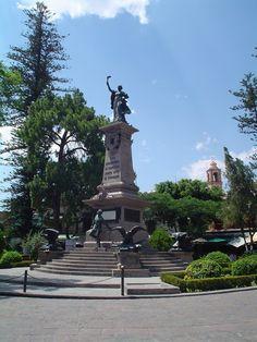 Plaza de la Corregidora, Querétaro, México