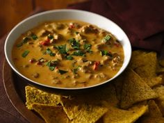 Chorizo Con Queso - Enjoy this Tex-Mex appetizer made using sausage and Progresso™ Recipe Starters™ cheese sauce served with tortilla chips – ready in just 15 minutes.