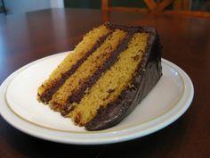 Paleo Vanilla Cake with Dark Chocolate Frosting