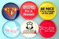 Nurse Appreciation - Glass Magnets #nurseappreciation #thankyougifts