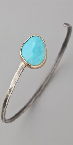 turquoise wrap cuff