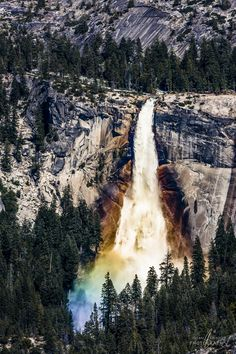 Nevada Fall - Yosemite National Park - USA