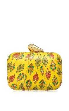Kotur Yellow Morley Clutch by Kotur for Preorder on Moda Operandi