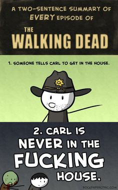 A two-sentence summary of The Walking Dead!