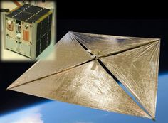 To The Moon! Crowdfunded Solar Sail Shoots For Lunar Launch - Technology Org