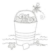 Very nice free patterns on this website beaches, craft, embroidery patterns, kid printables, free pattern, embroideri pattern, embroideri thing, beach pattern, sand bucket
