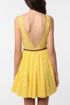 A cute summer dress.