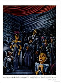 Carmen Jones by Miguel Covarrubias, Life magazine  (1944)