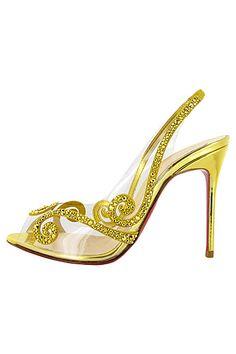 #Stunning Women Shoes #Shoes Addict #Beautiful High Heels #Wonderful Shoes #Shoe Porn    Christian Louboutin - Women's Shoes - 2013 Spring-Summer