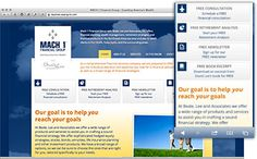 Mach 1 Financial Group -- a new website for a rebranded company