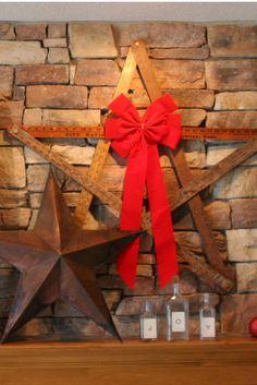 Mamie Jane's: Repurposing yardsticks into a star