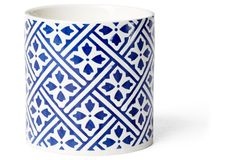 12.3 oz Deco Summer Candle, Blue Iris | Join the Club | One Kings Lane