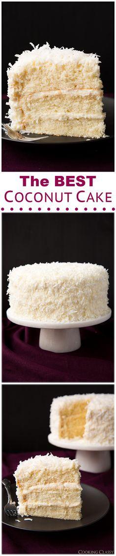 Coconut Cake - this