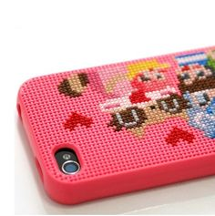 needlepoint an iphone case