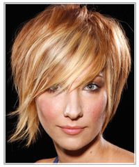 Funky short hair style hair coloring, hair colors, funki short, strawberry blonde, short hair styles, blonde highlights, short hairstyles, bang, red highlights