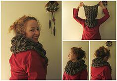Sassenach Claire Starz Outlander Cowl by Polly Foo Foo