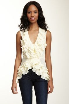 Ruffled Out Top