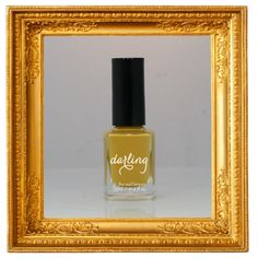 HOT DIGGITY - You know, like the mustard. Hold the ketchup. (Named by the hilarious Blake) (Mustard yellow high-gloss creme.) $18.95