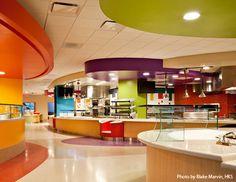 Cafeteria in Phoenix Children's Hospital.