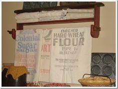 Sugar and flour sack collection