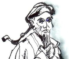 Love the brush strokes on this image of Chen Wangting, the founder of CHen Tai Chi.