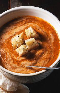 soups, broth, tart, food, tomato soup
