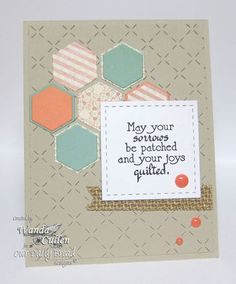 Stamps - Our Daily Bread Designs Quilts, ODBD Soulful Stitches Paper Collection