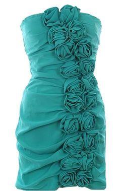 Paired Roses Dress | Bridesmaid Wedding Dresses | Rickety Rack