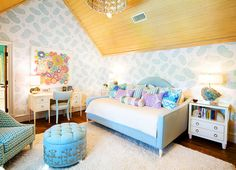 House of Turquoise: Tracy Hardenburg Designs girls bedroom