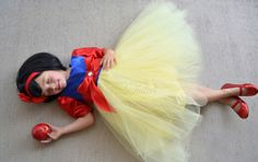 Aybrie wants to be snow white for halloween this year. now to figure out how to diy this costume...