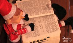 Our elf remembers the reason for the season.
