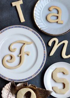 Galletas Tipográficas / Typography Cookies