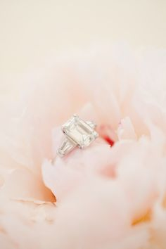 Emerald Cut Engagement Ring - @KT Merry