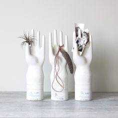 Porcelain glove molds