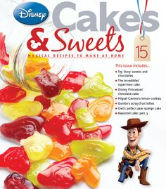 Toy Story sweets and chocs come in issue 15 #disneycakes